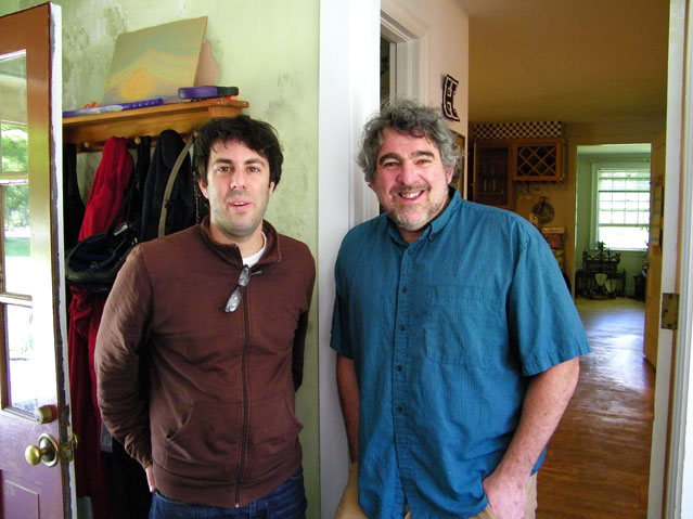 Dean Rosenthal and Larry Polansky, 2009. Photo by Karin Rosenthal.